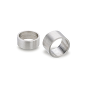 Stainless Steel-Distance bushings for indexing plungers GN 609.5