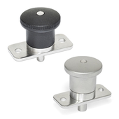 Stainless Steel-Mini indexing plungers with and without rest position GN 822.9